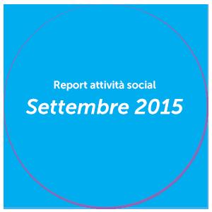 Report Settembre 2015